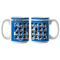 "The Beatles ""A Hard Day's Night"" 15 oz. Coffee Mugs (Set of 2)"