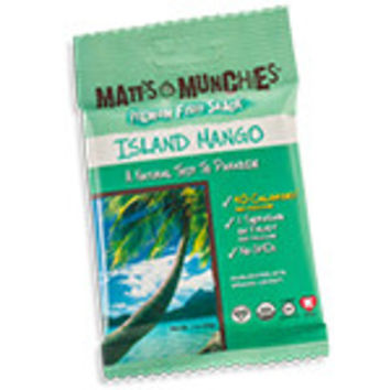 Matt's Munchies Premium Fruit Snacks Organic Island Mango 12 (1 oz.) packages per box