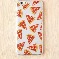 Pizza iPhone 6 Case- Clear One