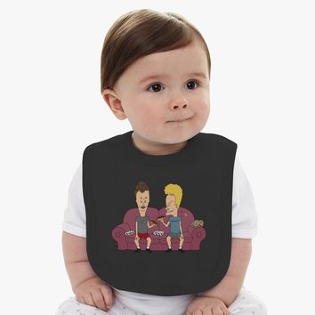 Beavis And Butthead Baby Bib