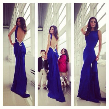 Sexy Women Fashion Evening Party Ball Prom Gown Formal Cocktail Long Dress S-XL