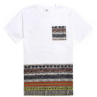 On The Byas Edmond Pieced Printed Pocket T-Shirt at PacSun.com