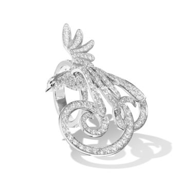 Oiseaux de Paradis Between the Finger ring - VCARN5P400- Van Cleef & Arpels