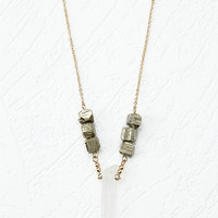 Faux Stone Necklace
