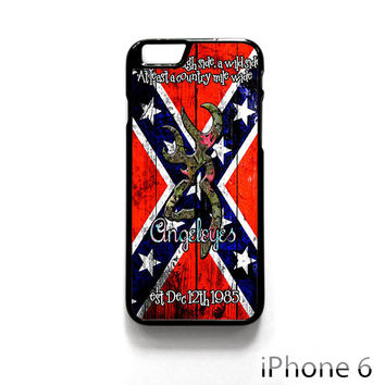 Confederate rebel Flag Image for Iphone 4/4S Iphone 5/5S/5C Iphone 6/6S/6S Plus/6 Plus Phone case