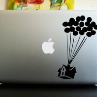 Apple Macbook Vinyl Decal Sticker - Up!