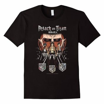 Cool Attack on Titan 2018 New Arrival Men's Fashion Silk Road Tees Gift Funny Doctor Who Lost in   in Shadows AT_90_11