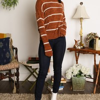 Dex Leo Stripe Sweater