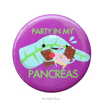*NEW* - Party in My Pancreas Magnet