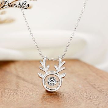 HOT!!! New Arrival Deer Antlers 925 Sterling Silver Necklaces & Pendants