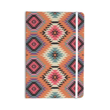 "Amanda Lane ""Southwestern Dreams"" Orange Pink Everything Notebook"