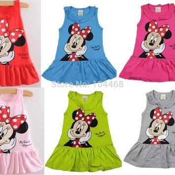 Minnie Mouse Dress/Shirt. Choice of Colors