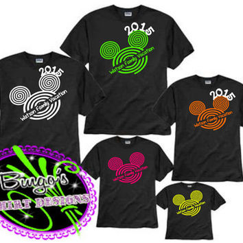 Free Shipping Custom Disney Family Vacation Shirts Faces, Disney Family Shirts Personalized, Mickey Ears, Family Shirts