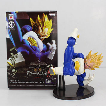 Dragon ball Z SCultures Banpresto Figure Colosseum 5 Vol. 5 VEGETA Super Saiyan PVC Action Figure Collection Model Kids Toy
