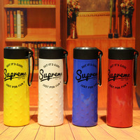 """Supreme"" On Sale Cute Drinks Coffee Innovative Cool Strong Character Stainless Steel Cup [9361196999]"