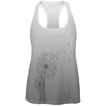 Dandelion Blow Me Funny All Over Womens Work Out Tank Top