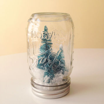 Winter Wonderland Mason Jar Christmas Decoration