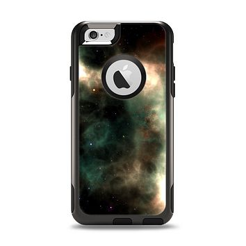 The Dark Green Glowing Universe Apple iPhone 6 Otterbox Commuter Case Skin Set