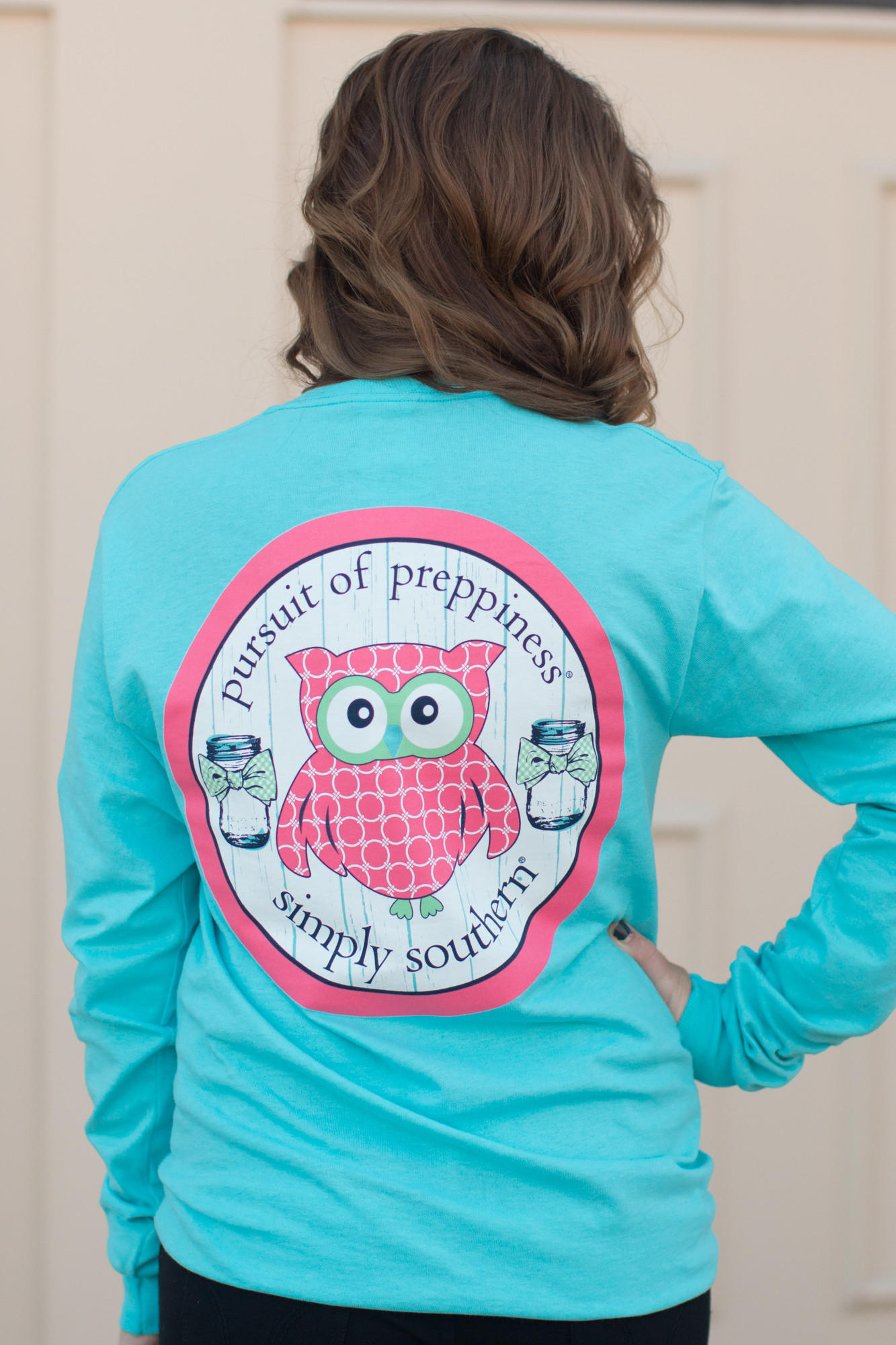 45c0b09e9e0 Simply Southern Preppy Owl Shirt from Pretty Please on Broad