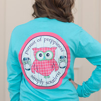 Simply Southern Preppy Owl Shirt