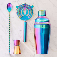 Oil Slick Bar Cocktail Shaker Set | Urban Outfitters