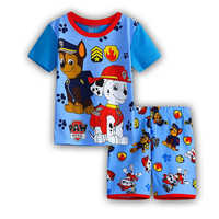 2016 new Baby Boys Kid SportsWear Tracksuit Outfit cartoon gilrs Suit Summer kids boys clothes sets 2-7y dx20