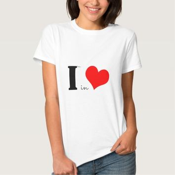 I Am In Love T Shirts