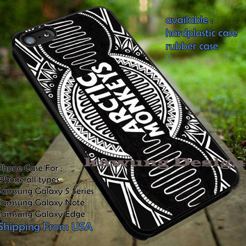 Art drawing creativity logo band,  arc, arctic monkeys, logo band,  case/cover for iPhone 4/4s/5/5c/6/6+/6s/6s+ Samsung Galaxy S4/S5/S6/Edge/Edge+ NOTE 3/4/5 #music #arc #cartoon ii
