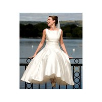 Audrey Hepburn Vintage 1950s Satin Bridal Dress - Star Bridal Apparel