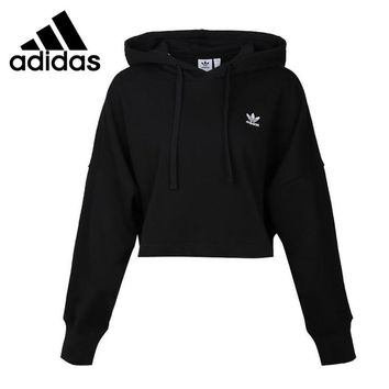 Original New Arrival 2018 Adidas Originals SC CROPPED HOOD Women's  Pullover Hoodies Sportswear