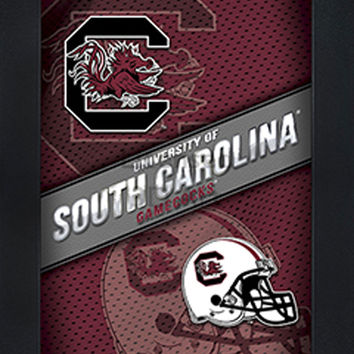LED lighted 3D Art Officially NCAA Licensed Picture South Carolina Gamecocks