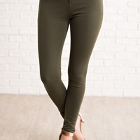 Micheal Jeggings (Olive)
