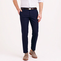 J.Crew Mens Ludlow Traveler Suit Pant In Italian Wool