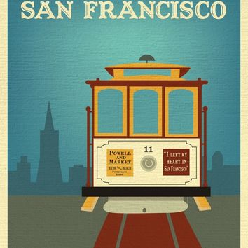 SALE of San Fransisco, California - Cable Car