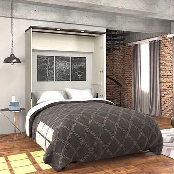 Queen Wall Bed with Desk