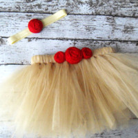 Beauty and the Beast Belle Inspired Tutu Child Size