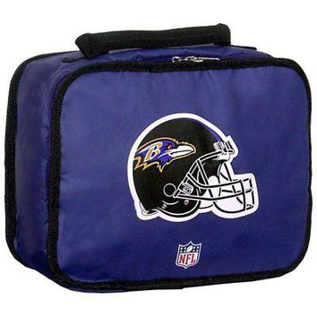 Licensed Baltimore Ravens NFL Lunchbreak Insulated Lunch Box Bag by Concept One 900477 KO_19_1