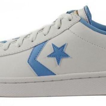 DCKL9 Converse for Men: Chuck Taylor Pro Leather Ox White Sneakers