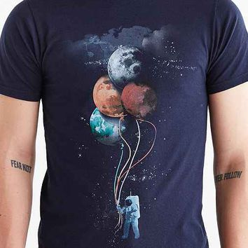 The Spaceman's Trip Tee- Navy