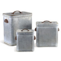 Trent Austin Design Lidded 3 Piece Canister Set & Reviews | Wayfair