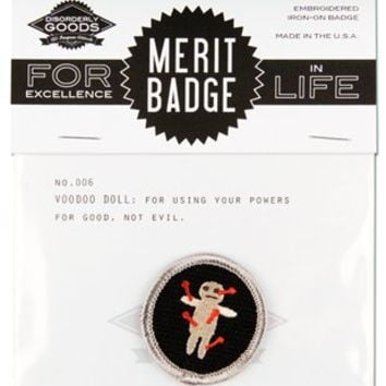 Merit Badge - Voodoo Doll