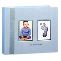 Baby Imprints Memory Book- Blue