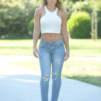 Off the Edge Jeans - Light