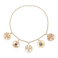 Talisman 5 Coin Necklace | Moda Operandi
