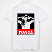 T Shirt Custom Yonce Beyonce Screenprint