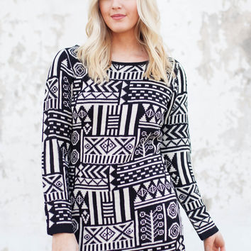 What I Know Now Sweater Tunic