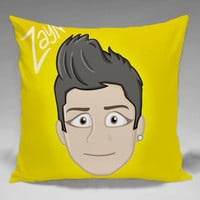 One Direction Zayn Malik - Square and Regtagular Pillow Case One Side/Two Side.