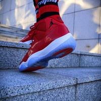 "Air Jordan 11 ""Win Like '96"" Basketball Shoes"