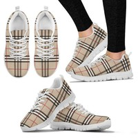 DCCKN3P Women's Sneakers Inspired by Burberry