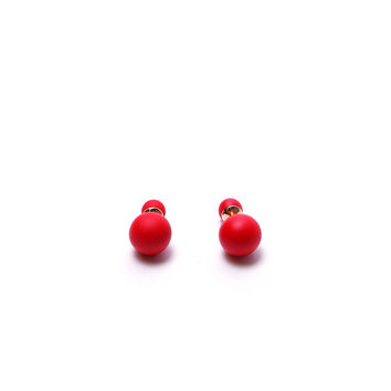Little Big Treats Earrings - Red